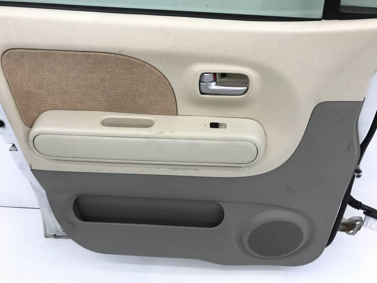 _b38135 ニッサン モコ S DBA-MG22S フロント ドア 左 F/LH 助手席側 Z7T C05 スズキ MRワゴン MF22S_画像9