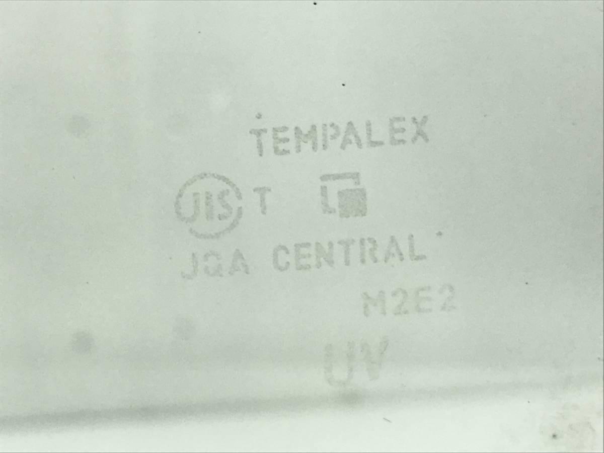 _b38907 スズキ ワゴンR FXリミテッド DBA-MH23S フロントドア ウィンドウガラス 左 F/LH 助手席側 M2E2 マツダ AZワゴン MJ23S_画像3