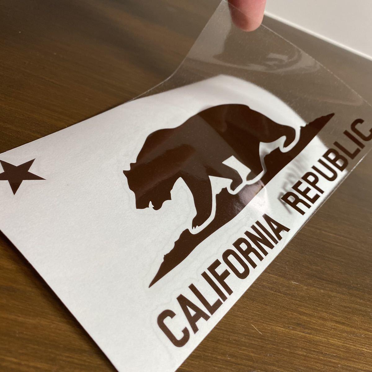 カリフォルニアリパブリック ステッカー_画像2