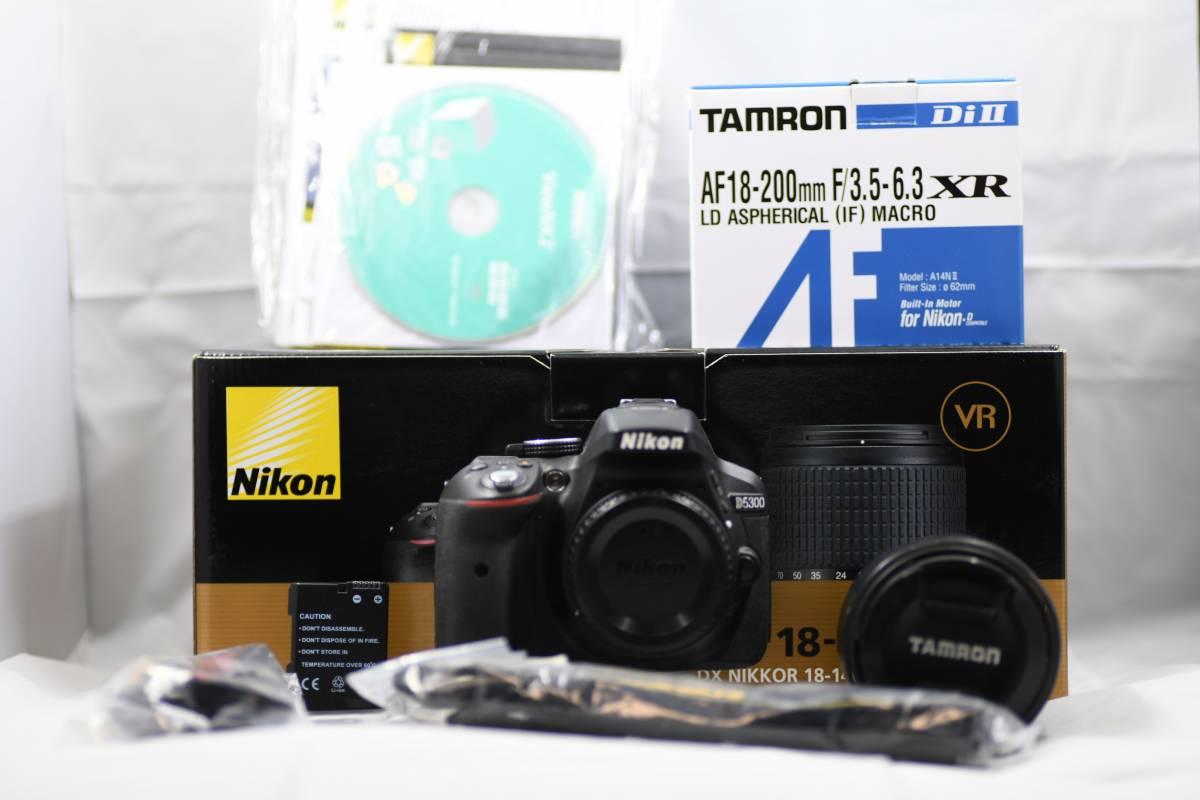 Nikon ニコン D5300 + TAMRON AF 18-200 F/3.5-6.3