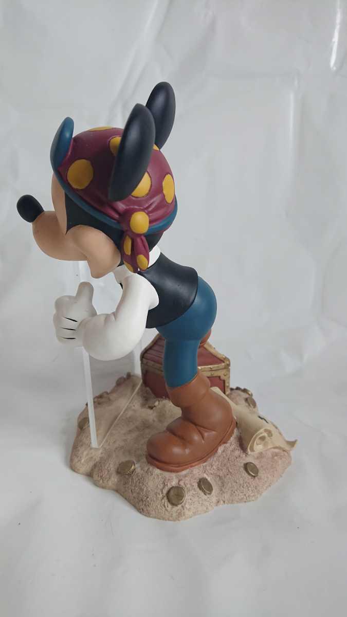 激レア! 廃盤! 入手困難! ミッキーマウス 海賊 フォトフレーム MICKEY MOUSE 陶器製 オブジェ インテリア 置物_画像2