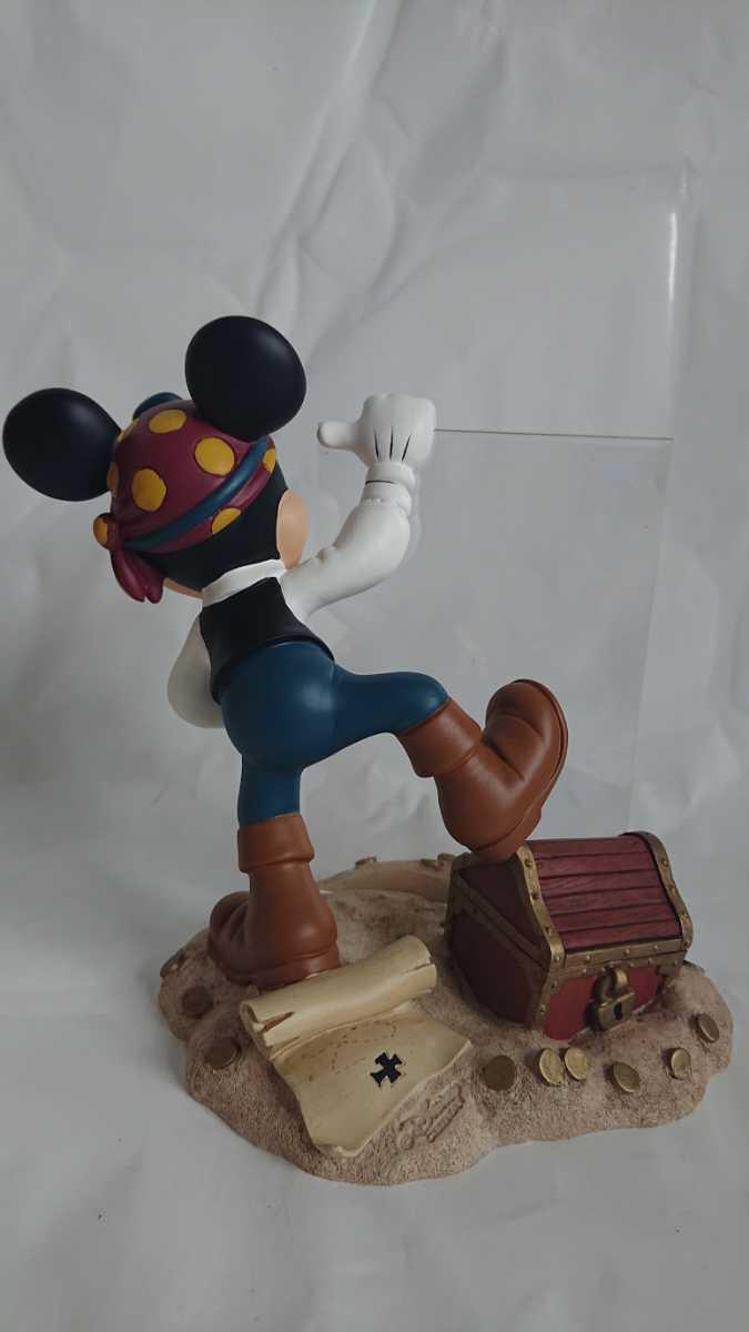 激レア! 廃盤! 入手困難! ミッキーマウス 海賊 フォトフレーム MICKEY MOUSE 陶器製 オブジェ インテリア 置物_画像3