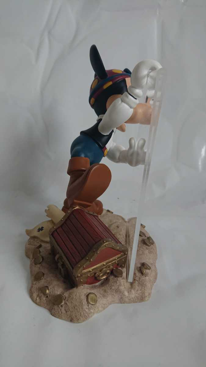激レア! 廃盤! 入手困難! ミッキーマウス 海賊 フォトフレーム MICKEY MOUSE 陶器製 オブジェ インテリア 置物_画像4