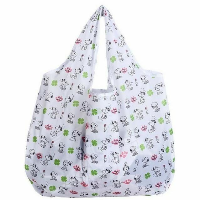 エコバッグ 折りたたみ 買い物袋 買い物バッグ スヌーピー SNOOPY