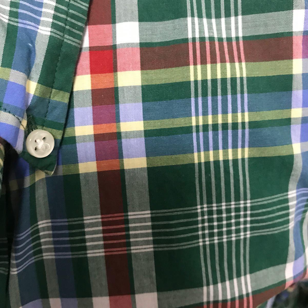 半袖シャツ チェック柄 半袖 Ralph Lauren