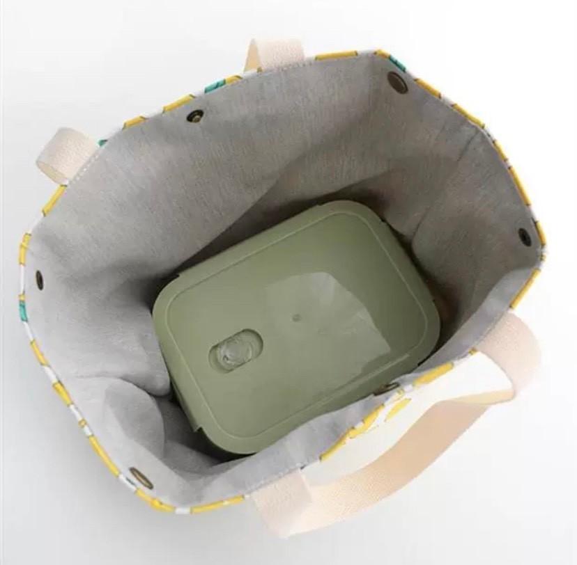 トートバッグ ハンドバッグ 北欧風 エコバッグ 花柄 マリメッコ風  コンビニ