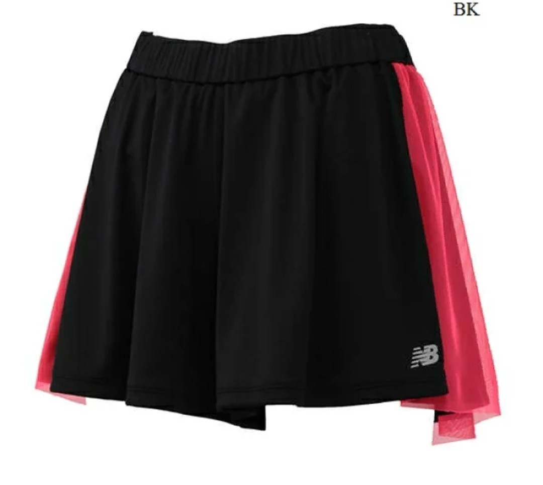 L ニューバランス ランニングパンツ  テニス  チュールショーツ¥5060 ①