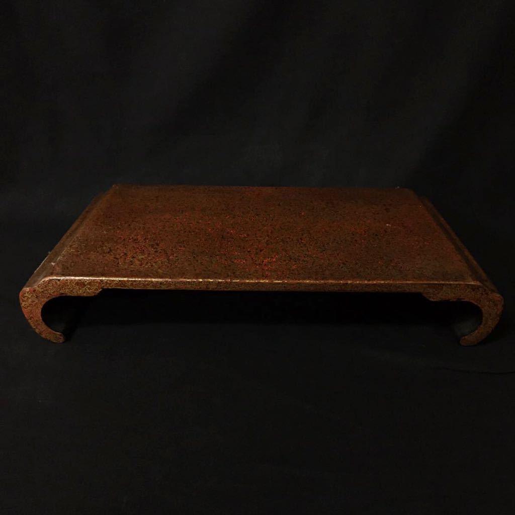 花台 盆栽台 平卓 飾台 香炉台 茶道具 長方型 和家具 古道具 骨董 古物 古美術 ②_画像1