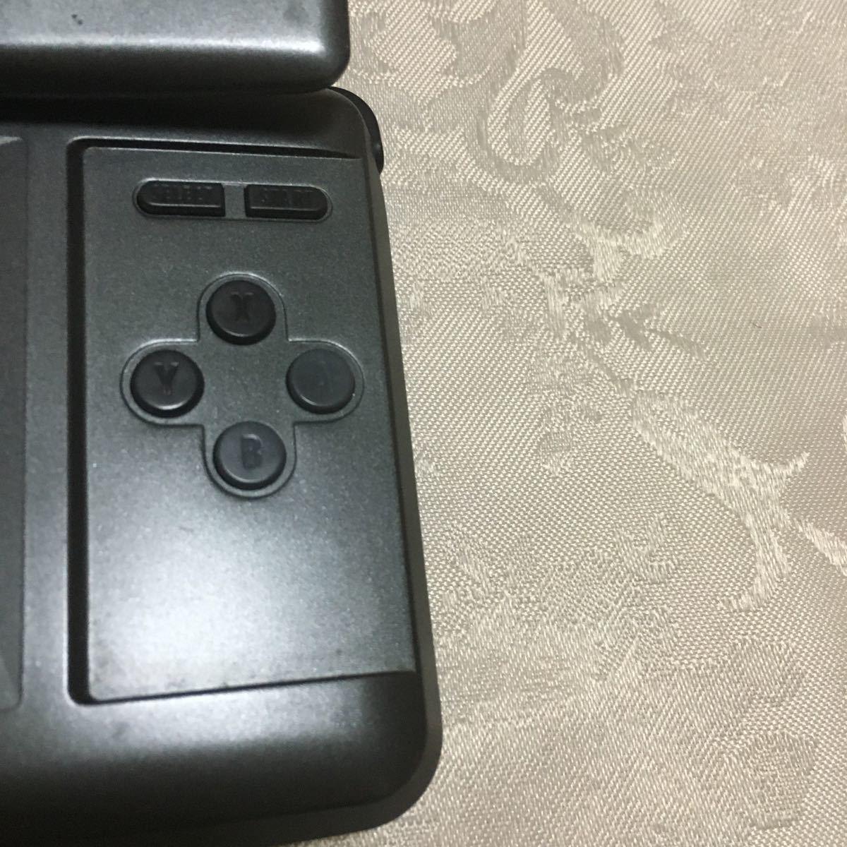 任天堂 Nintendo ニンテンドーDS 本体 グラファイトブラック タッチペン無し