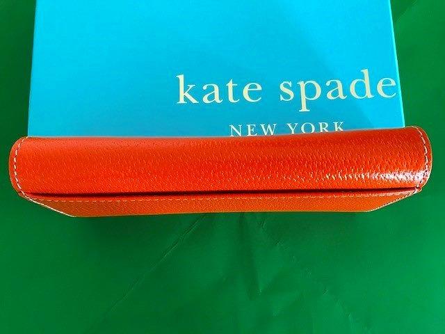 kate spade ケイトスペード オレンジ 長財布 箱付