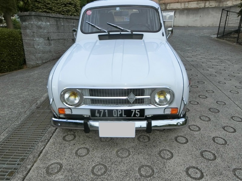@ Renault 4*TL* cooler,air conditioner attaching * vehicle inspection