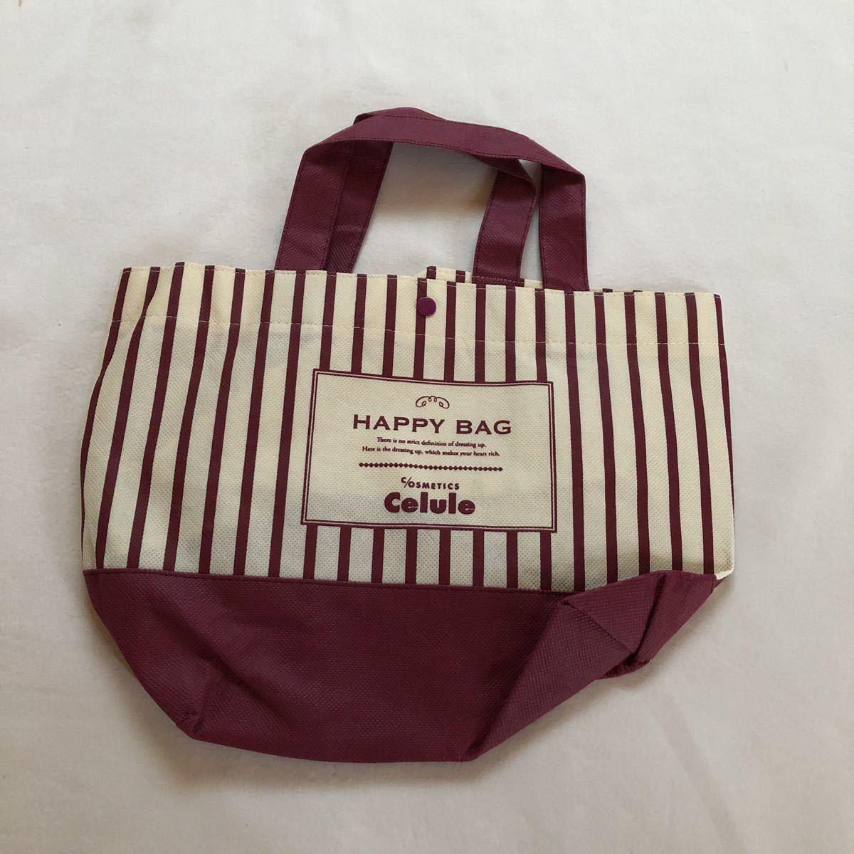 セルレ Celule 鞄 かばん カバン トートバック 新品 未使用 福袋 ハッピーバッグ 不織布 ノベルティグッズ お弁当袋 ランチバッグ _画像2