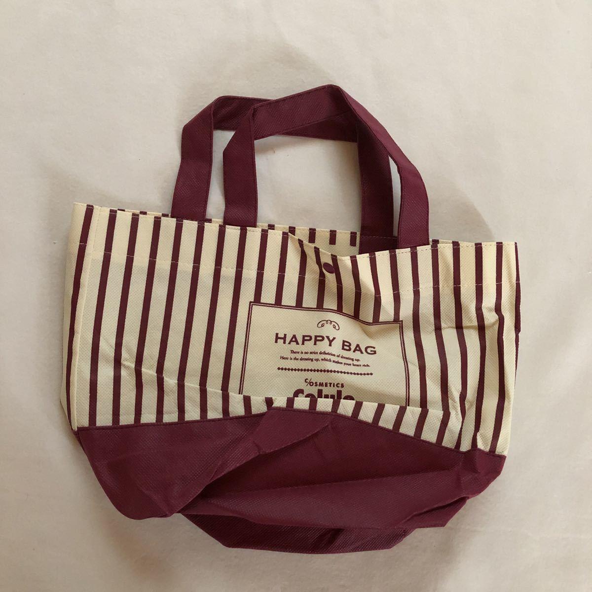 セルレ Celule 鞄 かばん カバン トートバック 新品 未使用 福袋 ハッピーバッグ 不織布 ノベルティグッズ お弁当袋 ランチバッグ _画像3