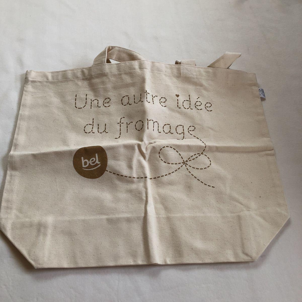 Une autre idee du fromage 鞄 かばん カバン コットンバック トートバッグ 非売品 新品 ノベルティグッズ エコバッグ_画像3
