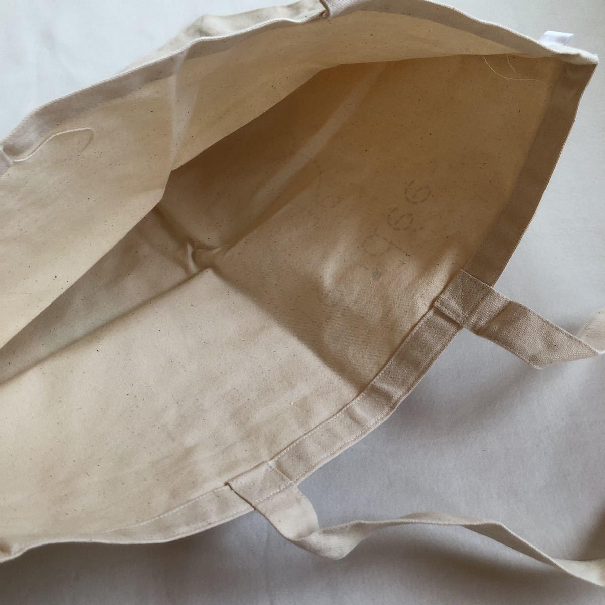 Une autre idee du fromage 鞄 かばん カバン コットンバック トートバッグ 非売品 新品 ノベルティグッズ エコバッグ_画像5