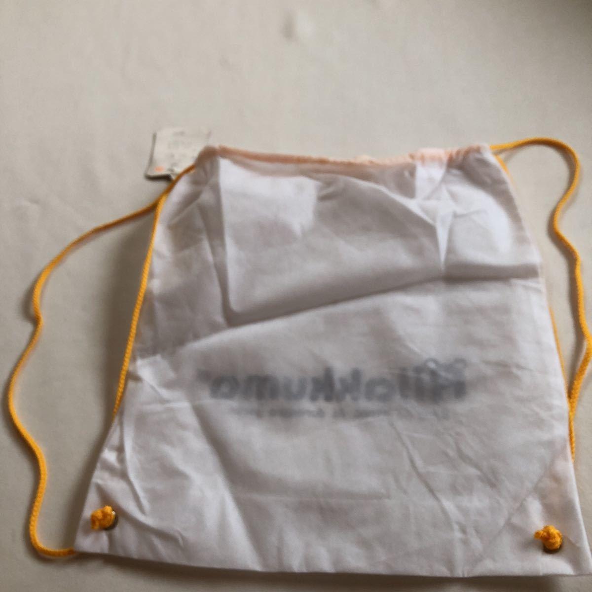 リラックマ 巾着 ショルダーバッグ ロゴ バック 鞄 新品 不織布 Rilakkuma エコバッグ 鞄 かばん カバン リュックサック 福袋もの_画像2