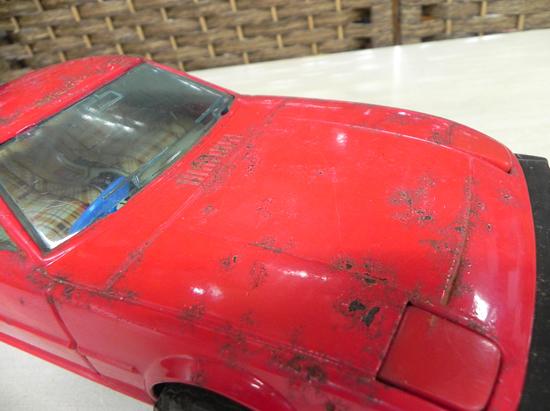 当時物! ブリキ おもちゃ イチコー製 サバンナRX-7 ブリキカー ビンテージ _画像8