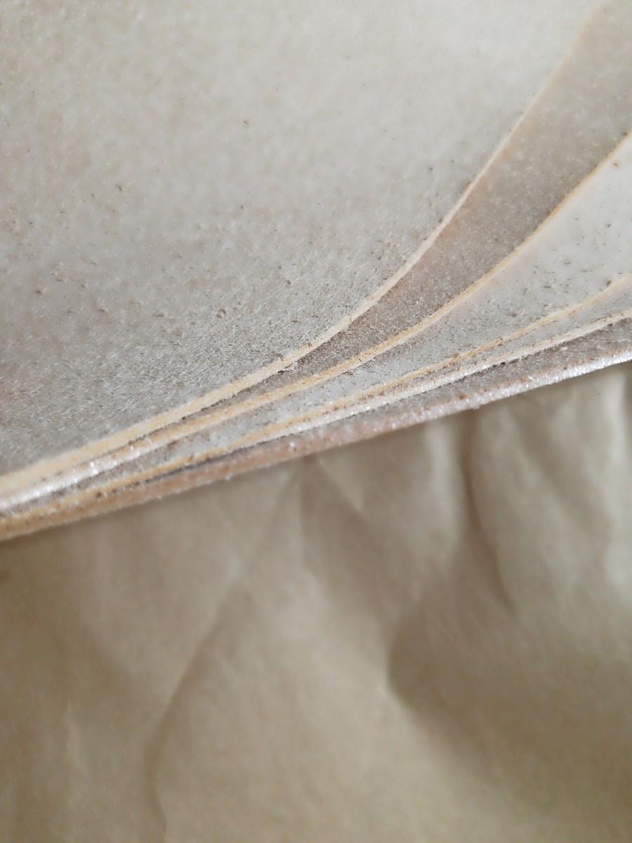 【レザークラフト用】牛ヌメの床革A4サイズ5枚とおまけ