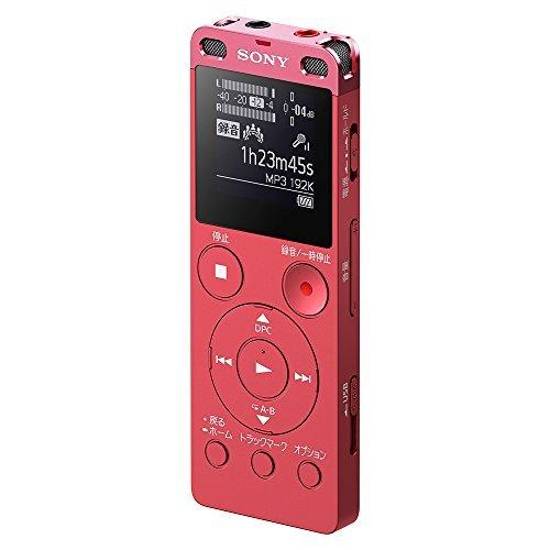 ピンク 4GB ソニー ステレオICレコーダー FMチューナー付 4GB ピンク ICD-UX560F/P_画像1