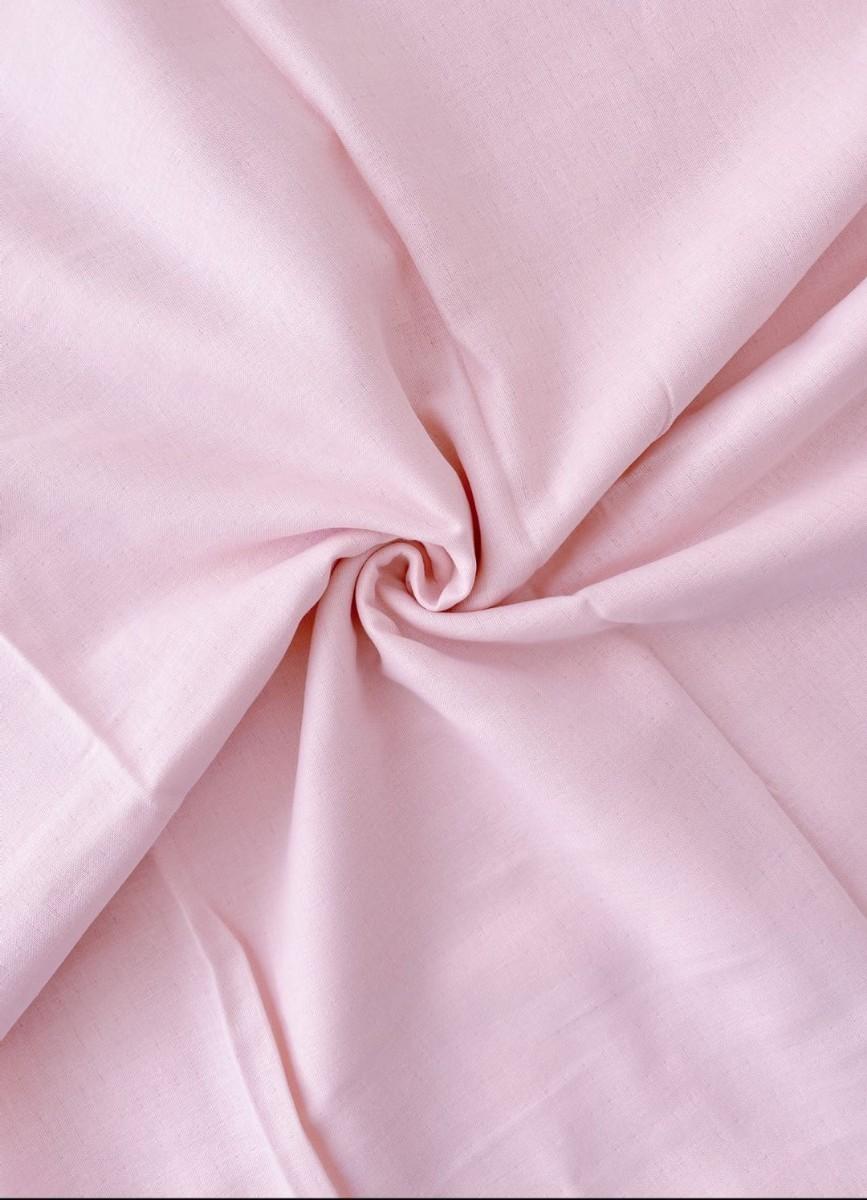 ダブルガーゼ  生地端切れ  ピンク