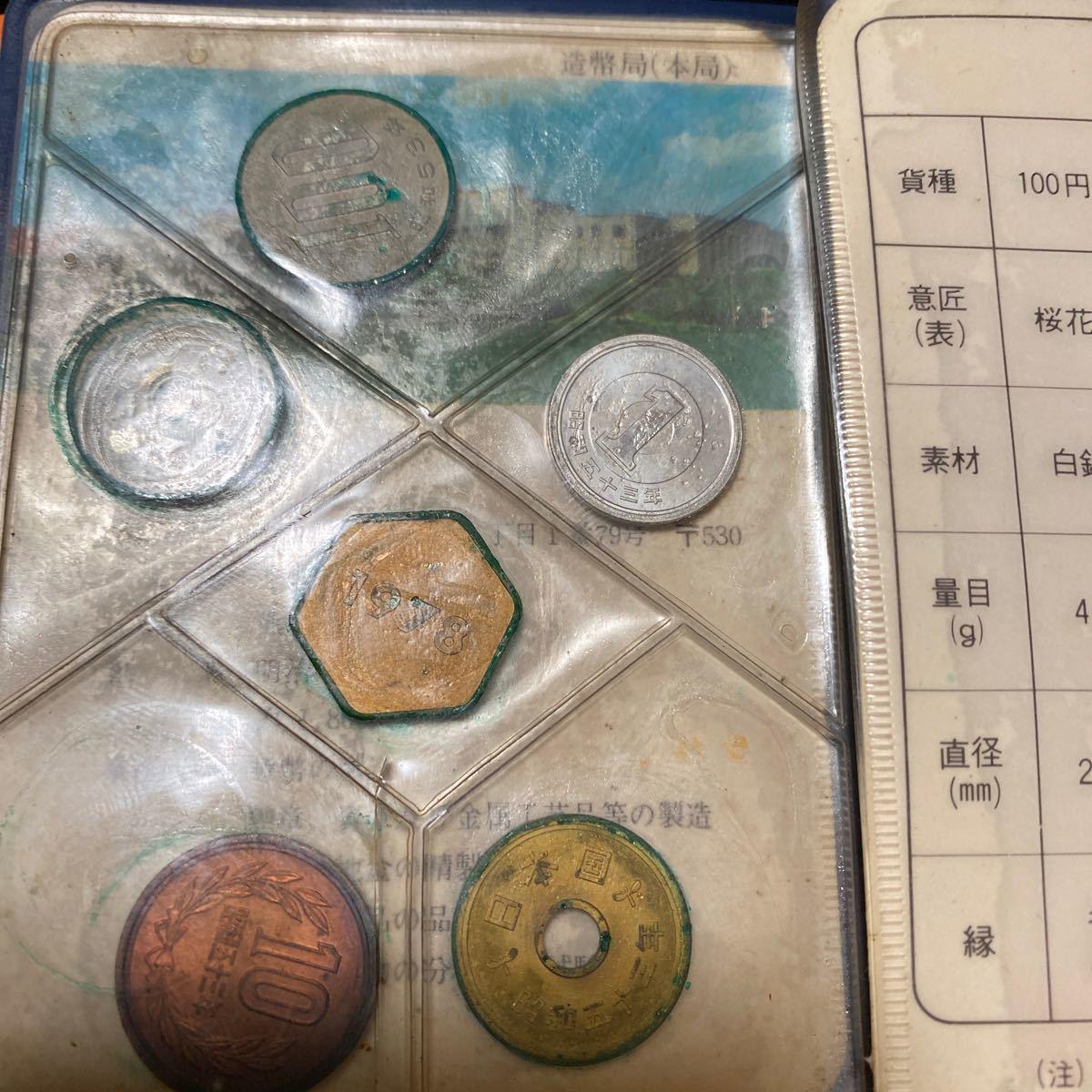 貨幣セット 昭和52年53年55年56年ミントコインです。(ゆうパック着払い)_画像9