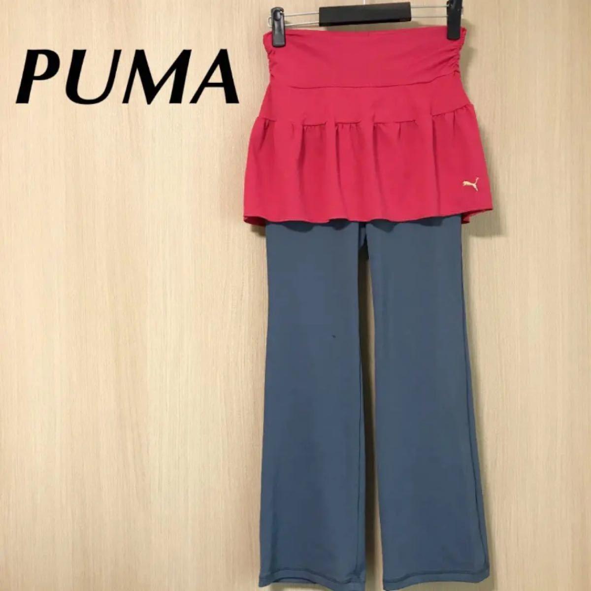 PUMA プーマ レディース スカッツ M スカートパンツ ジャージ ウェア