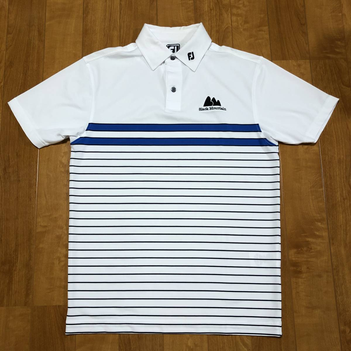 【FOOT JOY】 FJ フットジョイ ゴルフ ウェア 半袖 ポロシャツ メンズ 男性用_画像1