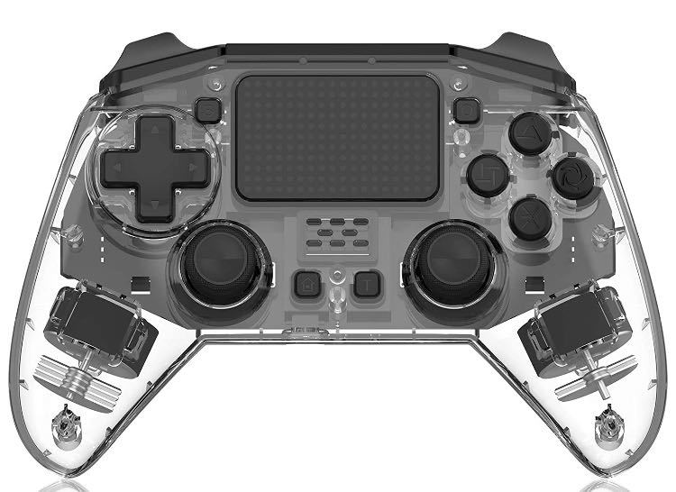 PS4 コントローラー 透明 PS4/PS3/PS4