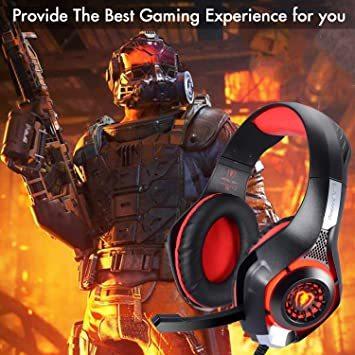 赤 BlueFire PS4 ヘッドセット ゲーミングヘッドセット 重低音 Xbox one ゲーミングヘッドホ ボリュームコ_画像7