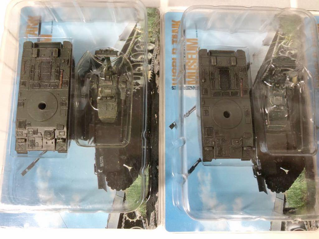 1/144 タカラ WTM ワールドタンク ミュージアム 第4弾 陸上自衛隊 87式自走対空砲 単色迷彩×3_画像2
