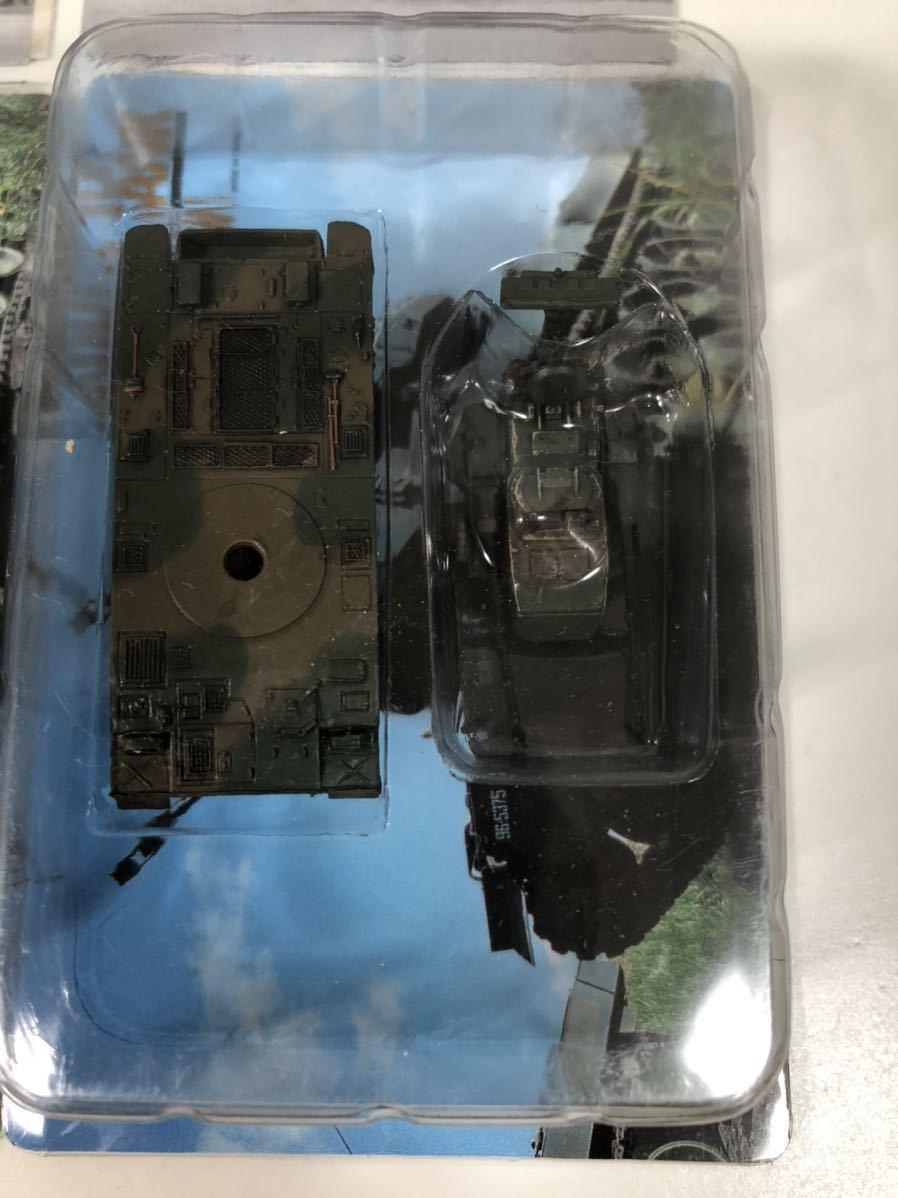 1/144 タカラ WTM ワールドタンク ミュージアム 第4弾 陸上自衛隊 87式自走対空砲 2色迷彩×3_画像3