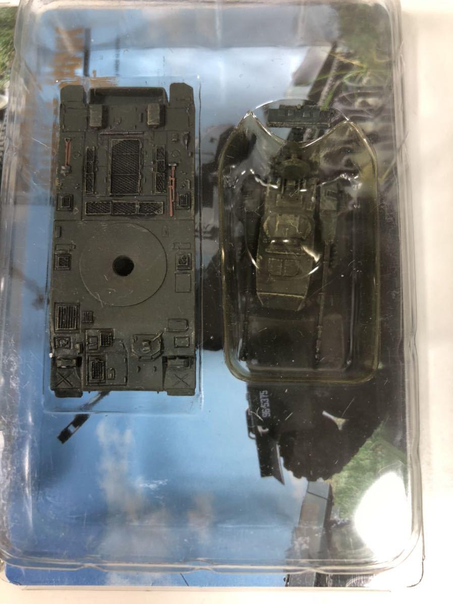 1/144 タカラ WTM ワールドタンク ミュージアム 第4弾 陸上自衛隊 87式自走対空砲 単色迷彩×3_画像3