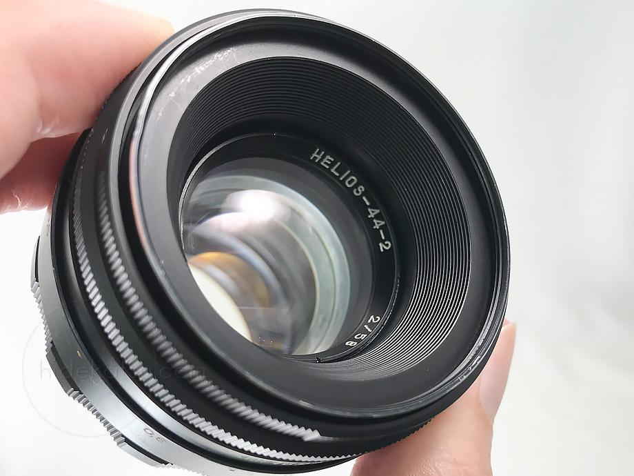 ぐるぐるボケのヘリオス【分解清掃済み・撮影チェック済み】Helios 44-2 58mm F2.0 M42マウント_11h_画像7