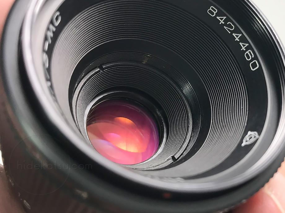 星ボケのインダスター【分解清掃済み・撮影チェック済み】 Industar-61 L/Z 50mm F2.8 M42_14i_画像7