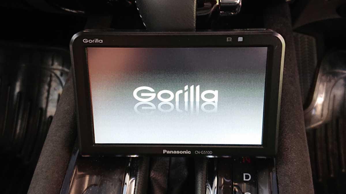 CN-G510D Panasonic Gorilla パナソニック ゴリラ SSDポータブルナビ ワンセグ カーナビ 2018年製 取説有り 作動確認OK_画像5
