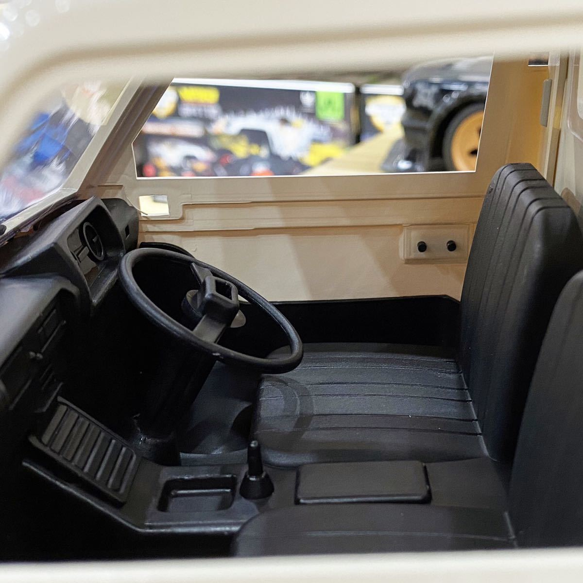 WPL 軽トラ ラジコンカー 1/10 全2種 RTR ミッドシップ MR 軽トラック RC 車 トラック 2WD リヤ駆動 D-12型 バッテリー付 ドリフト可能_画像6