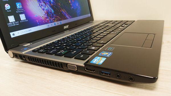 爆速新品SSD480GB/メモリ8GB☆最新Windows10☆Acer V3-571-H58D/LK☆高性能 Core i5-3210M☆Webcam/Blu-ray/Bluetooth/USB3.0☆_画像5