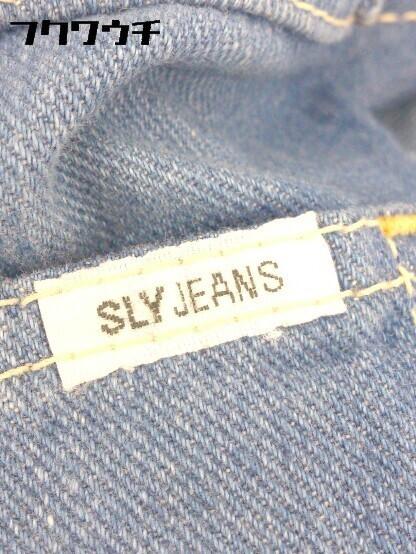 ◇ sly jeans スライジーンズ デニム パンツ サイズ26 インディゴ メンズ_画像4