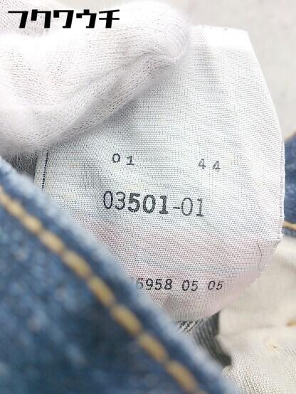◇ Levi's リーバイス 501 XX ボタンフライ ダメージ加工 ジーンズ デニム パンツ サイズ36/32 インディゴ メンズ_画像8