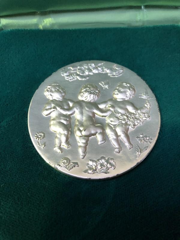 S-26◆純銀◆国際花と緑の博覧会◆記念貨幣発行記念メダル◆造幣局製◆シルバー1000_画像5