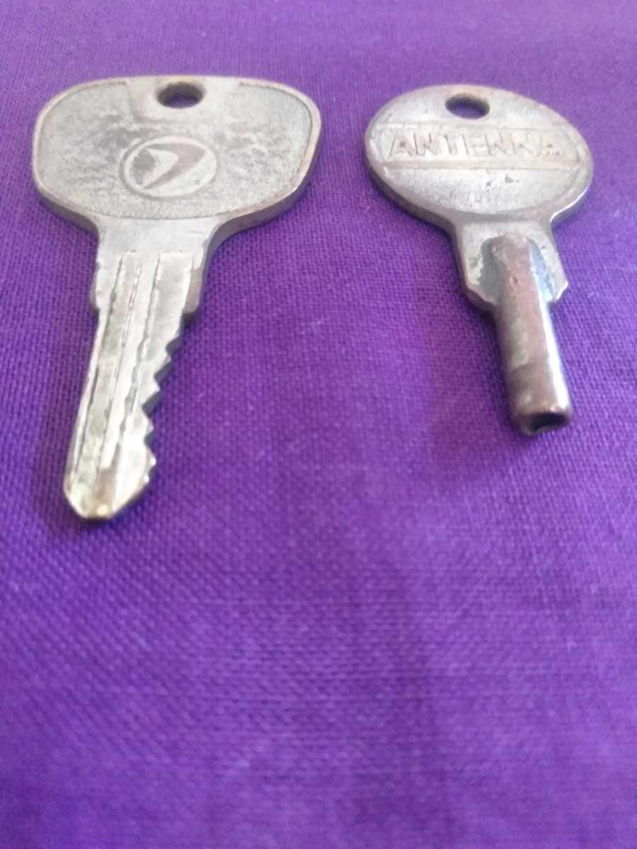 旧車、スバル360?、サンバー360?、鍵、キー、レトロ、アンティーク、ビンテージ、レア物、昭和、キーホルダー、インテリア、古い鍵、314_画像6