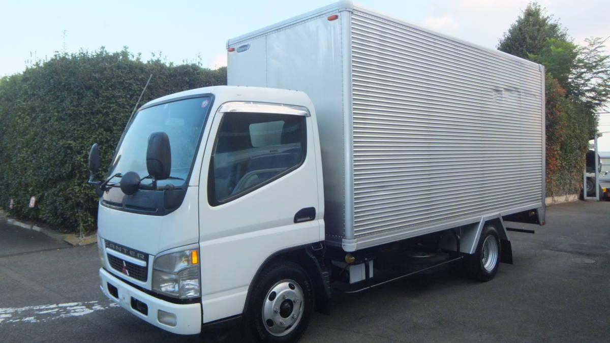 「H16 三菱キャンター アルミバン 2トントラック 最大積載2000㎏」の画像3