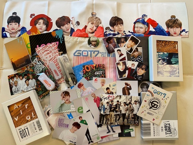 ■新品含 GOT7 ガッセ  CD DVD トレカ ペンライト  詰め合わせ K-POP ■現状 ジャンク  おまけDVD付き 韓流_画像1