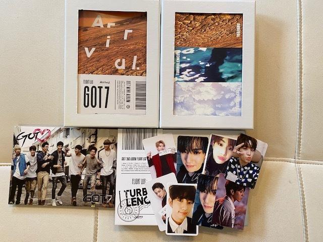 ■新品含 GOT7 ガッセ  CD DVD トレカ ペンライト  詰め合わせ K-POP ■現状 ジャンク  おまけDVD付き 韓流_画像3