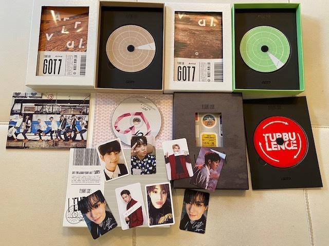 ■新品含 GOT7 ガッセ  CD DVD トレカ ペンライト  詰め合わせ K-POP ■現状 ジャンク  おまけDVD付き 韓流_画像4