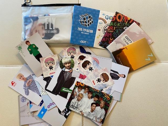 ■新品含 GOT7 ガッセ  CD DVD トレカ ペンライト  詰め合わせ K-POP ■現状 ジャンク  おまけDVD付き 韓流_画像5