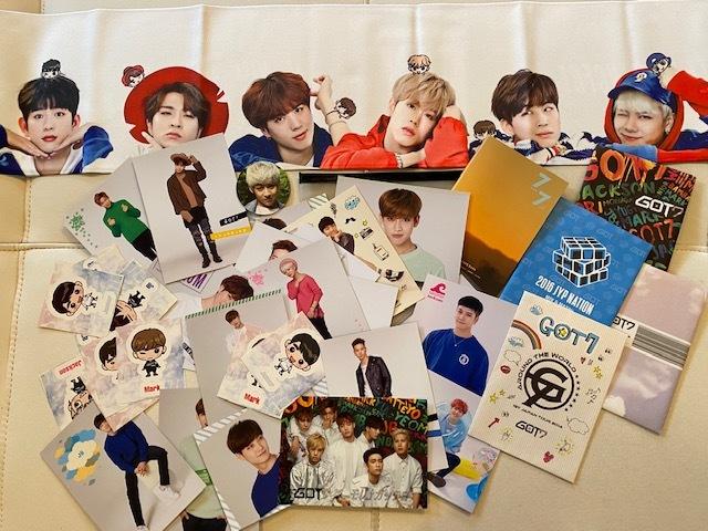 ■新品含 GOT7 ガッセ  CD DVD トレカ ペンライト  詰め合わせ K-POP ■現状 ジャンク  おまけDVD付き 韓流_画像6