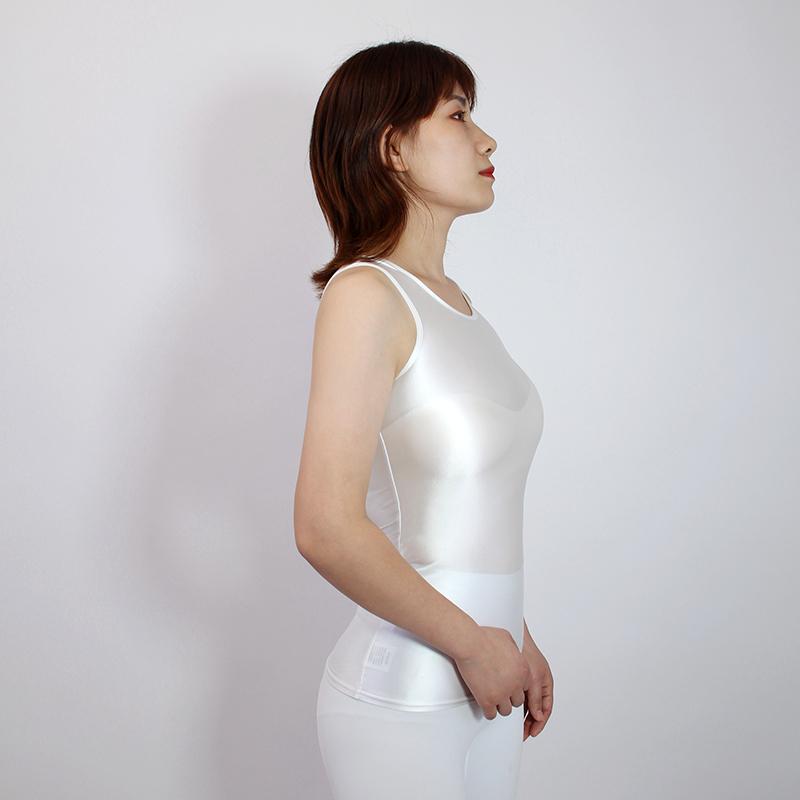 【2020夏最新作】コスプレ衣装 ノースリーブレオタード 伸縮性あり レースクイーンレオタード ホワイト Mサイズ_画像1