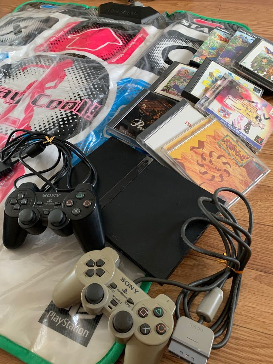 PlayStation 2 SCPH-70000セット+ソフト色々♪!
