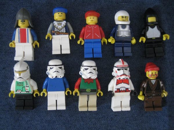 LEGO レゴ ミニフィグ 10個セット ジャンク_画像1